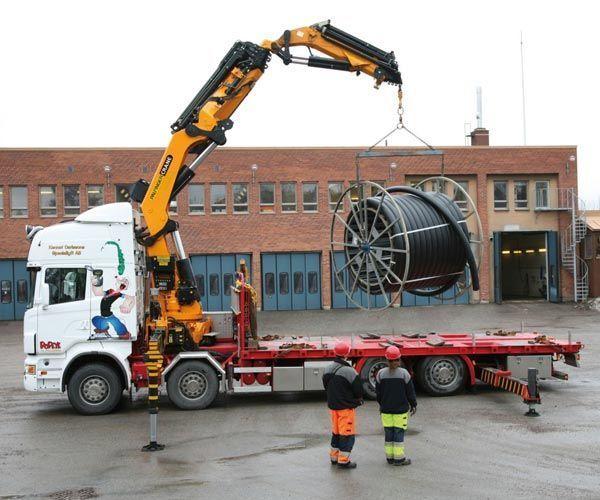 new PALFINGER PK 85002 serii High Perfomance loader crane