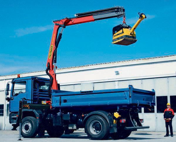new PALFINGER PK 9001 EH High Performance loader crane