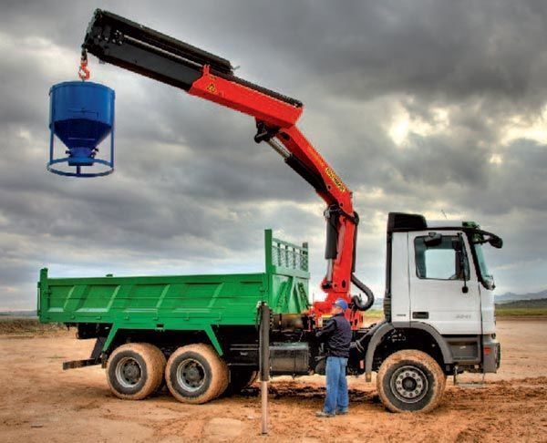 new PALFINGER Kran manipulyator PK 23502 High Perfomance loader crane