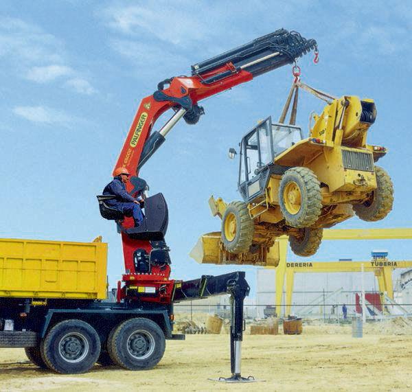 new PALFINGER RK 65002-SH serii High Performance loader crane