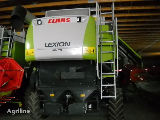CLAAS LEXION 580 combine-harvester