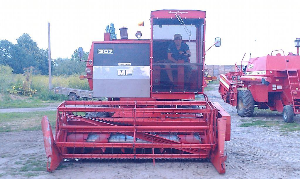 MASSEY FERGUSON 307,186,206,240,506,440 combine-harvester