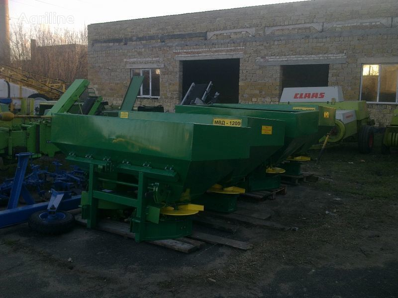 new MVD-1200 (MVD-900,MVD-1000) i MVD-0,5 Hmelnikselmash fertiliser spreader