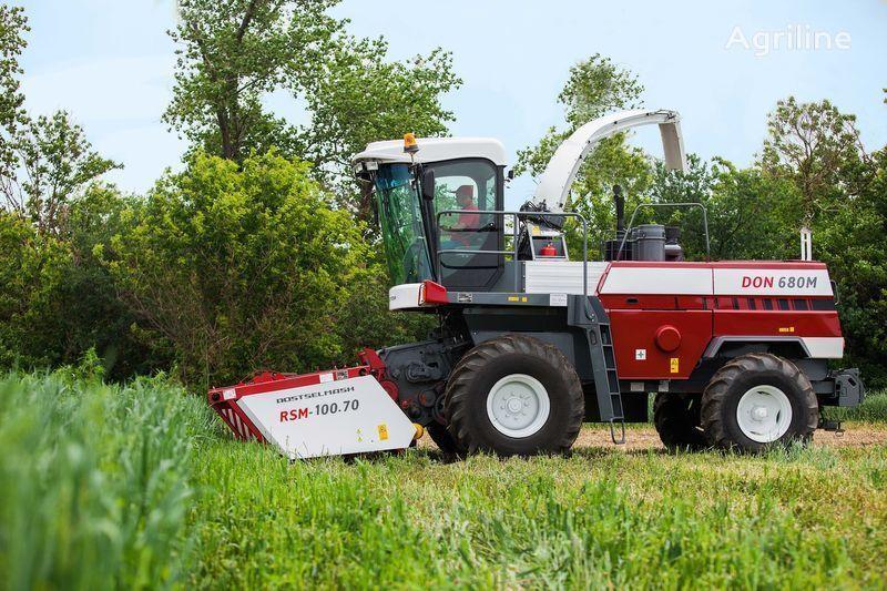 new ROSTSELMASH DON 680M forage harvester