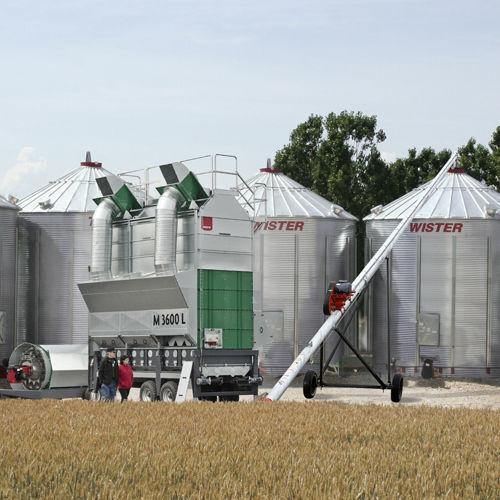 Mobilnye vakuumnye zernosushilki MEPU serii L grain dryer