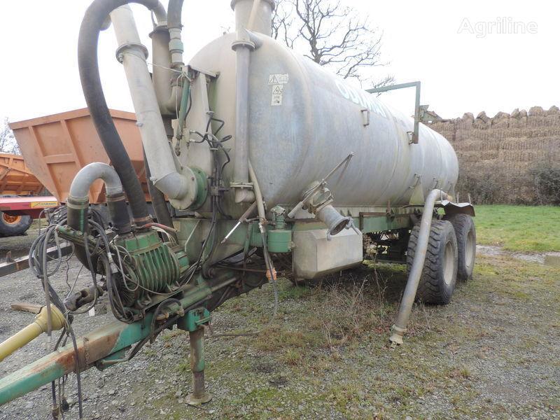 Godimat tonne a lisier 12.5m3 liquid manure spreader