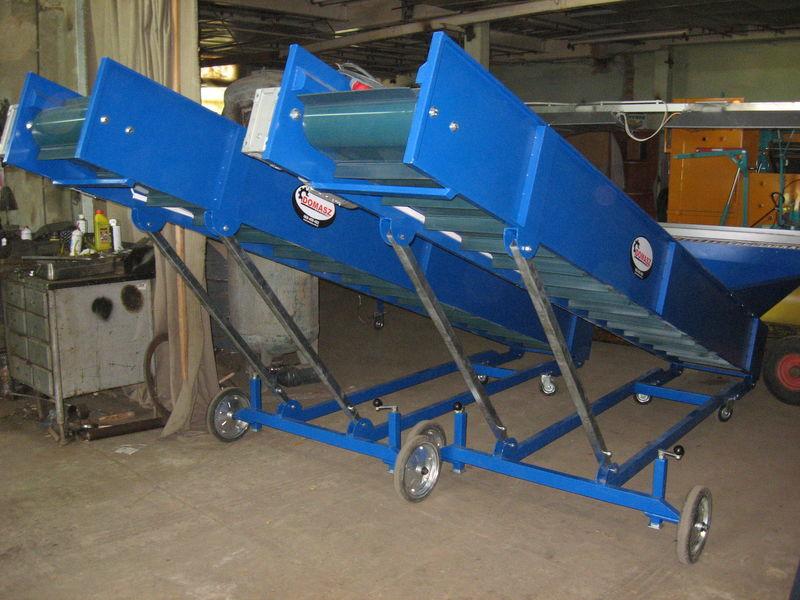 new transporter (konveyer) - 4m  receiving hopper