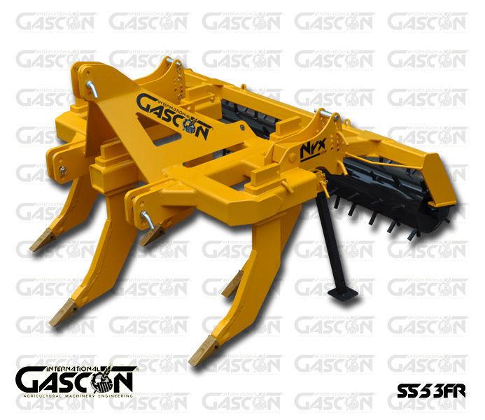 new GASCON  Glubokoryhlitel Gascon SS-5-3FR (150-210 l.s.) subsoiler