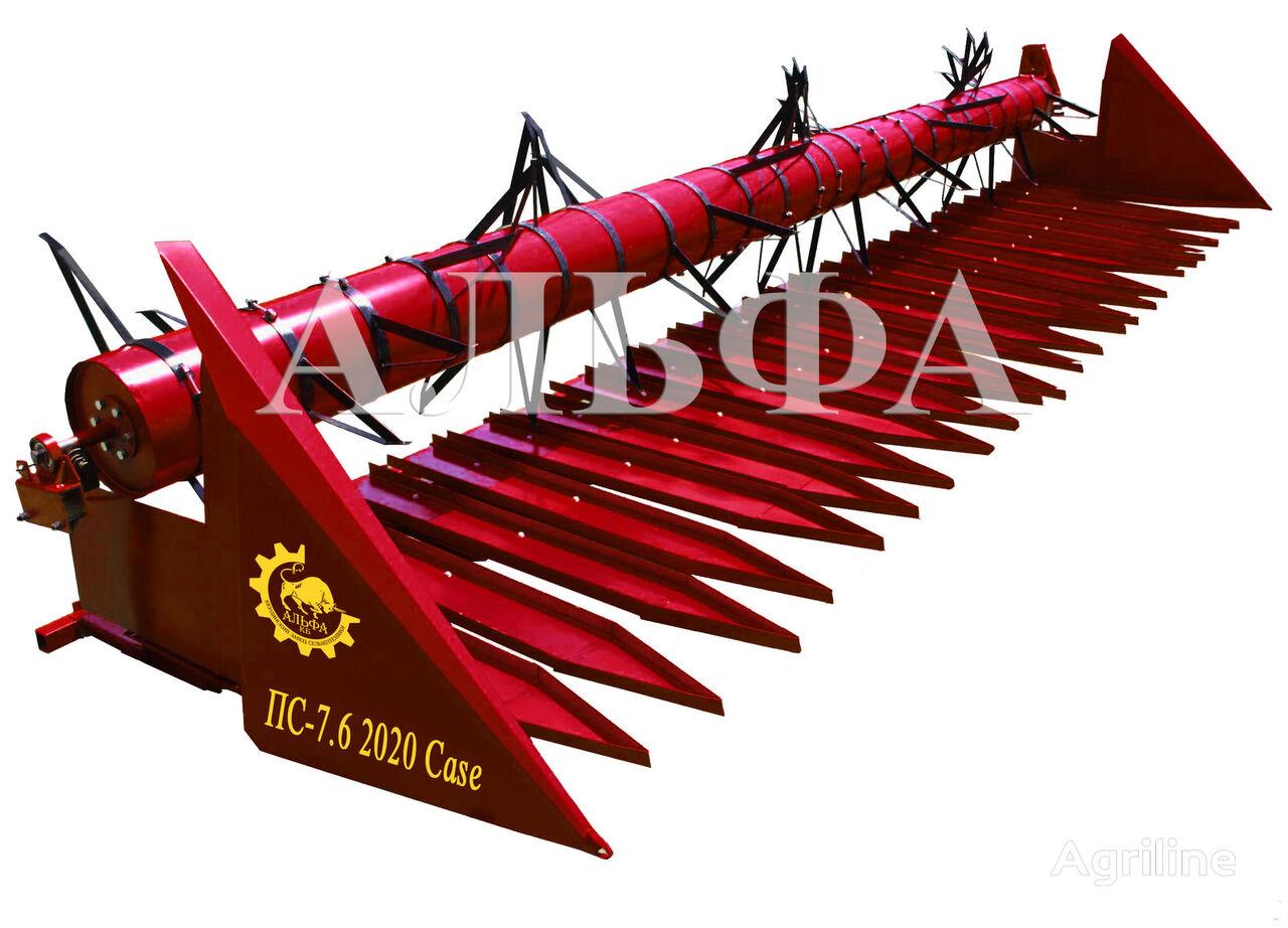 new prisposoblenie pristavka dlya podsolnechnika PS analog Dzhon Dir sunflower harvesting equipment