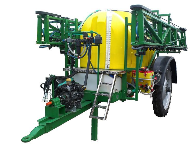 new Vektor-3000-24 trailed sprayer