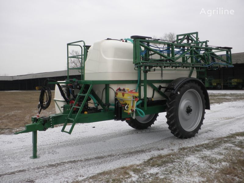 new Vektor-5000/27 trailed sprayer