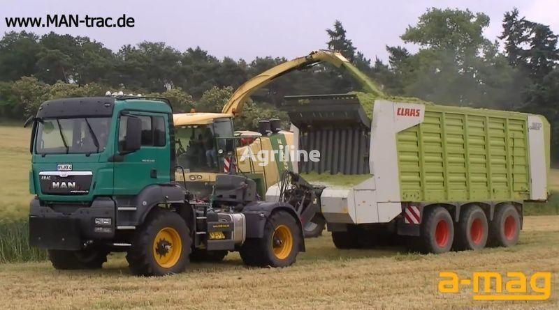 new FENDT man-trac.de wheel tractor