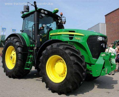 JOHN DEERE 7930 wheel tractor