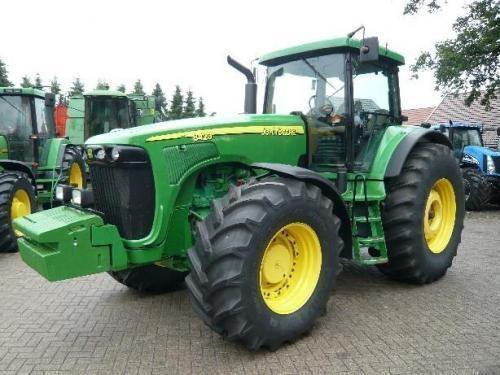 JOHN DEERE 8420 Gusinichnyy wheel tractor