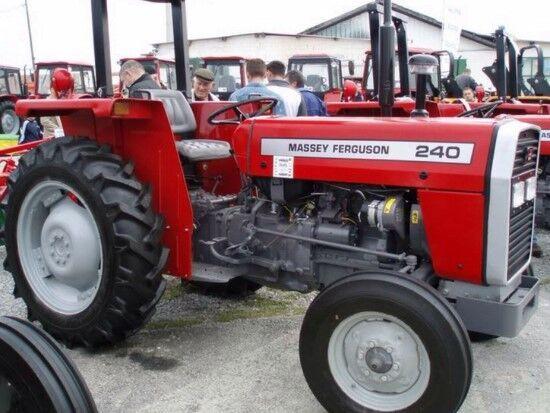 new MASSEY FERGUSON 240 wheel tractor