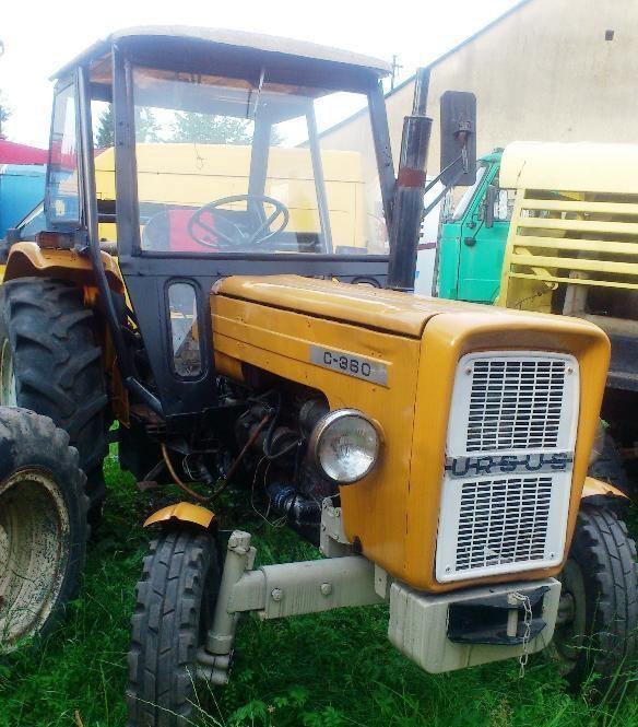 URSUS C-360 wheel tractor