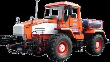MMT-2  Manevrovyy motovoz na baze traktora HTA-200  wheel tractor