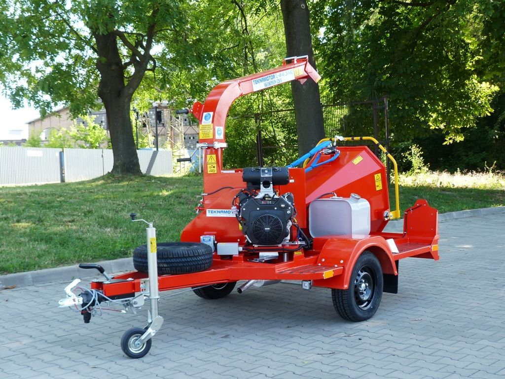 new TEKNAMOTOR Skorpion 120 S wood chipper