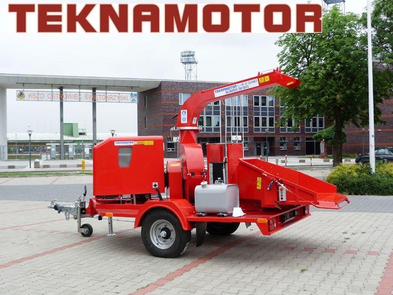 new TEKNAMOTOR Skorpion 250 SDT/G wood chipper