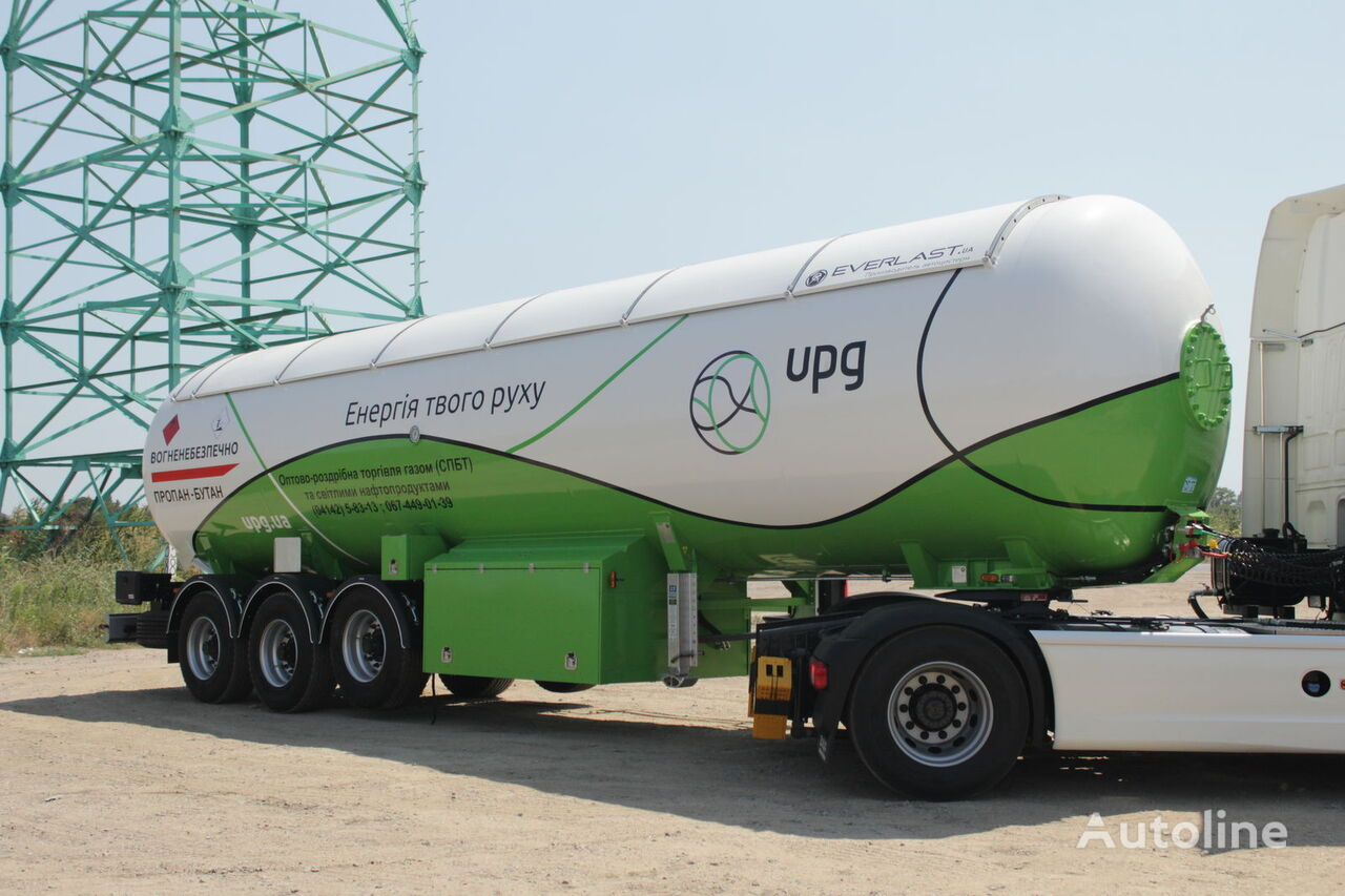 new EVERLAST LPG gas tank trailer