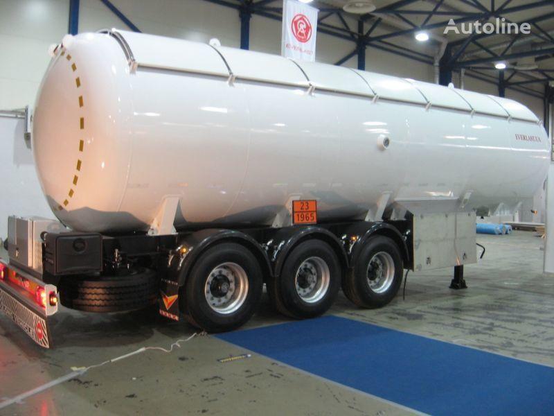 new EVERLAST LPG-40 gas tank trailer