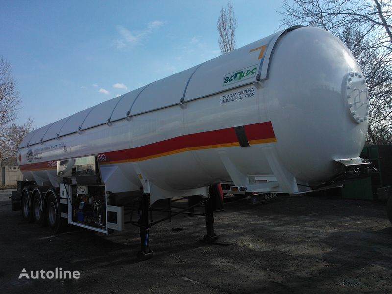 new LDS BC-LDS NCG-43 gas tank trailer