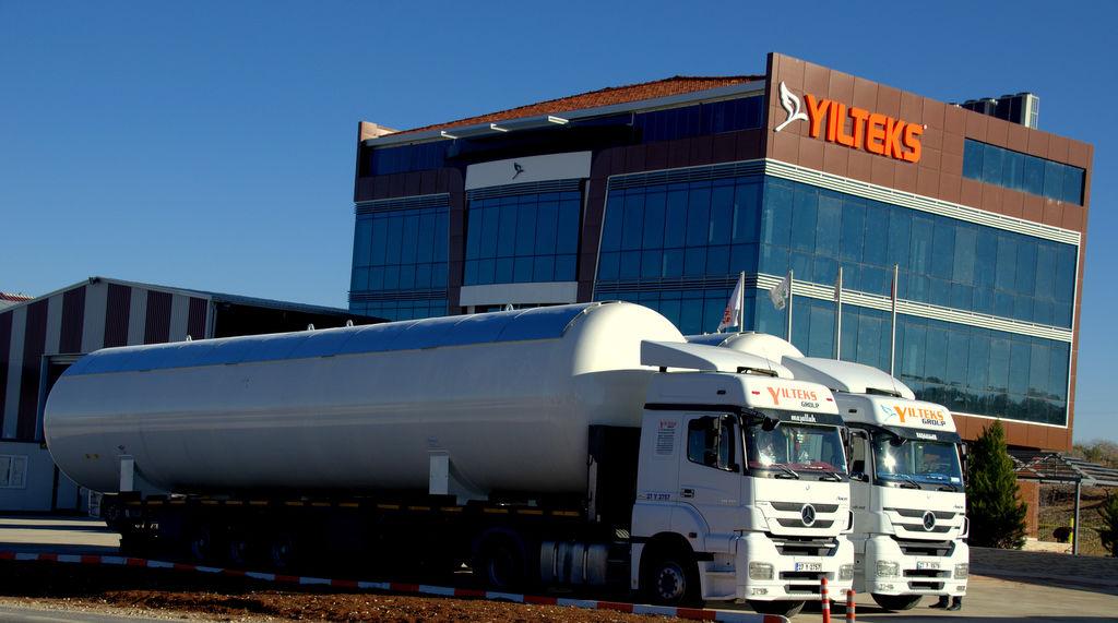 new YILTEKS LPG Storage Tank gas tank trailer