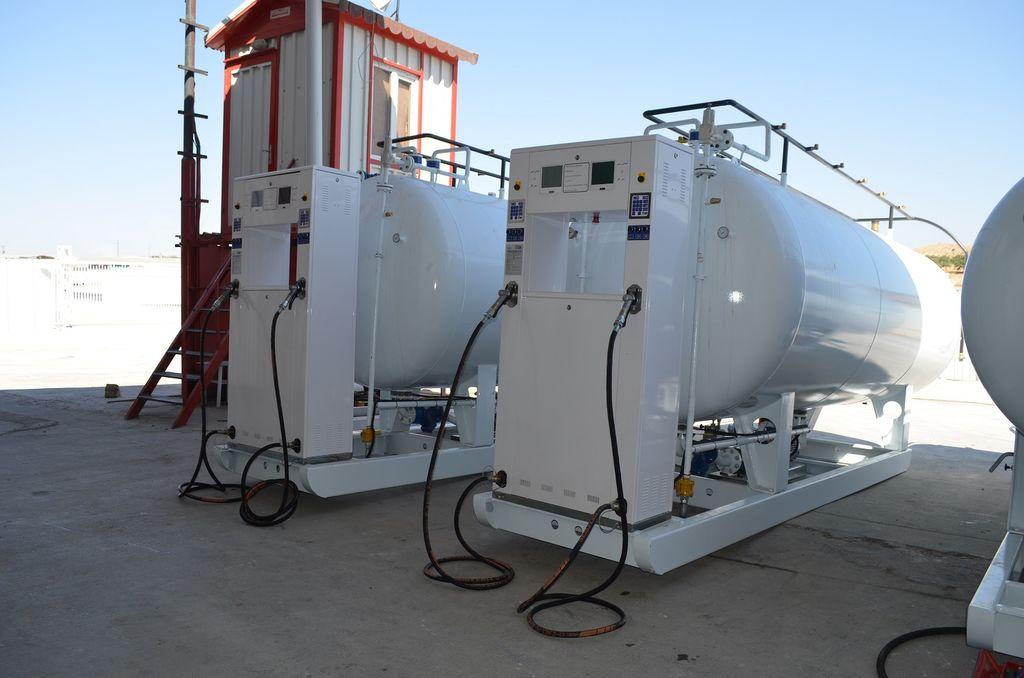 new YILTEKS LPG skid Tank gas tank trailer