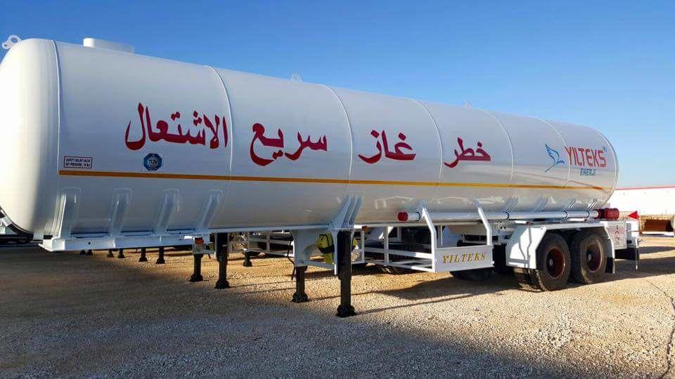 new YILTEKS Trailer LPG  gas tank trailer
