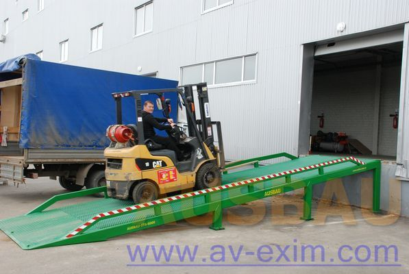 new AUSBAU AUSBAU-ST Fixed ramp , Stacionarnaya rampa , Dock ramp , laadbrug mobile yard ramp