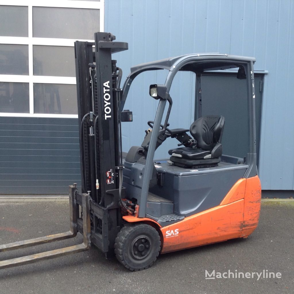TOYOTA 8 FBET 16 three-wheel forklift