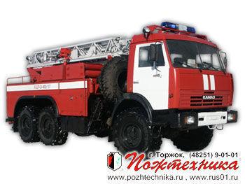 KAMAZ ACL-3-40/17    fire ladder truck