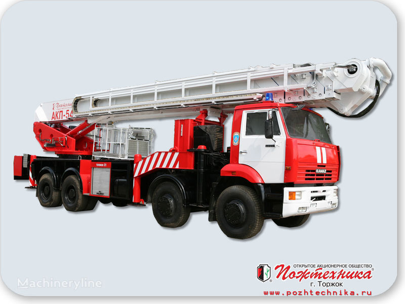 KAMAZ AKP-54 fire ladder truck