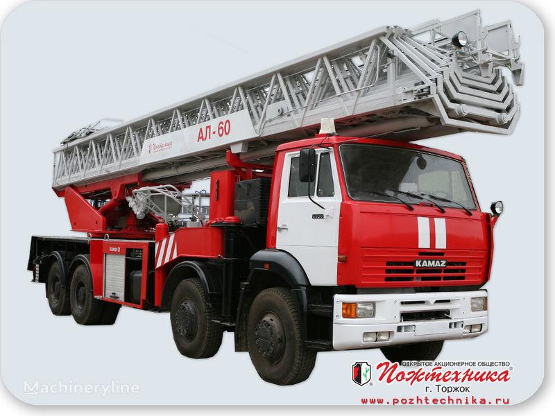 KAMAZ AL-60 fire ladder truck