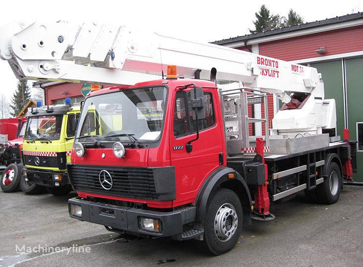MERCEDES-BENZ 1722 4X2WD fire ladder truck