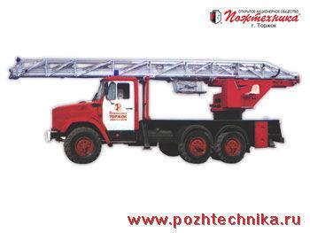 ZIL AL-30 fire ladder truck