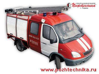 GAZ APP-0,5-2,0 Avtomobil pervoy pomoshchi     fire tanker truck