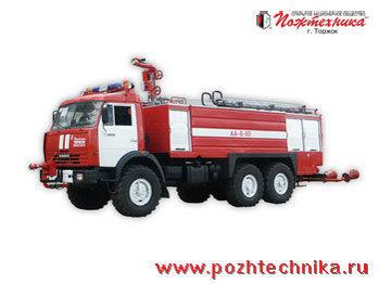 KAMAZ AA-8/60    fire tanker truck