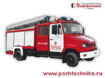 ZIL AC-1,0-4/400 fire tanker truck