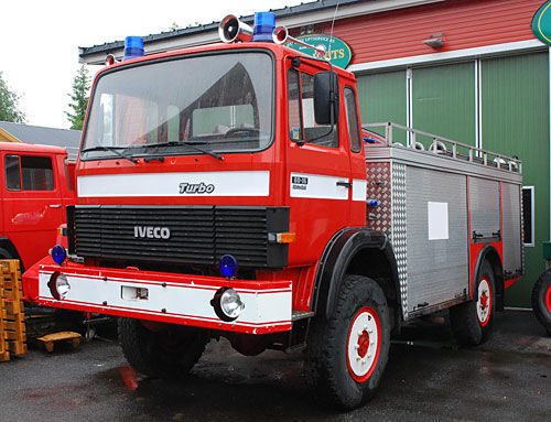 IVECO 4x4 WD fire truck