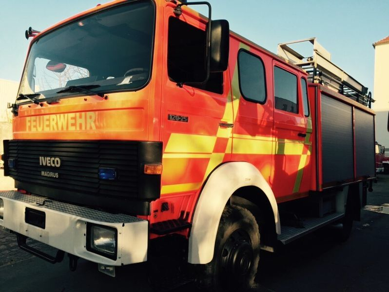 IVECO HLF Typ 120-25 4x4 fire truck