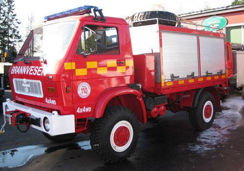 MAN 8.150, 4x4 WD fire truck