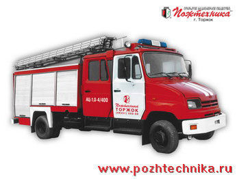 ZIL AC-1,0-4/400 fire truck