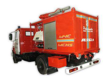 ZIL PSK Pozharno-spasatelnyy kompleks s konteynerami tyazhelogo tipa fire truck
