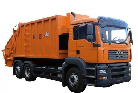 MAN KO-427-46  garbage truck