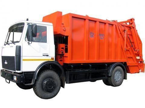 MAZ KO-427-34  garbage truck