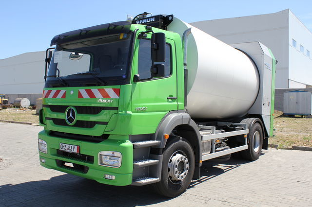 new VARZ-MV-1823-16 garbage truck
