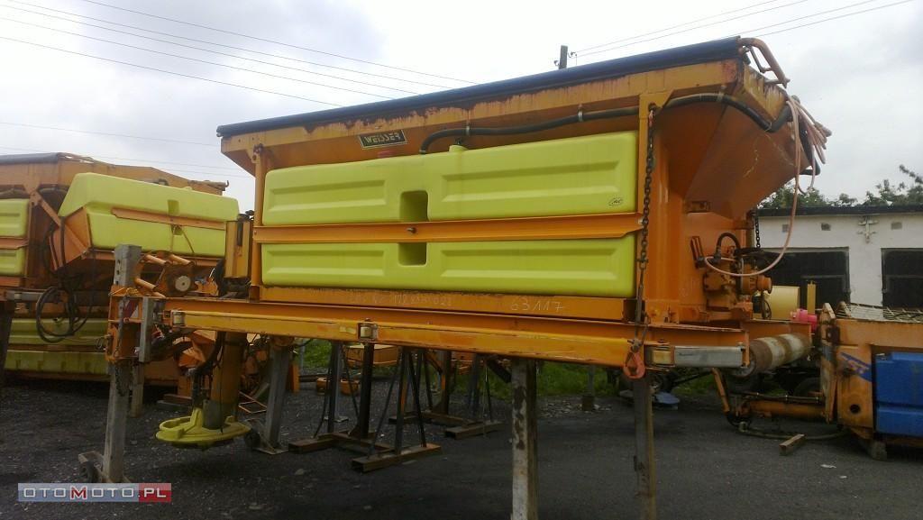 Piaskarko solarka KUPPER WEISSER 5m3 gritter