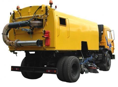 KAMAZ KO-326-10  road sweeper
