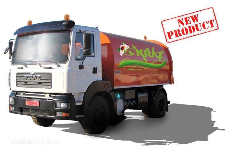 KRAZ 5401K2-020 Vakuumnyy podmetalno-uborochnyy avtomobil  road sweeper